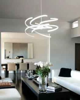 lampadario moderno a led